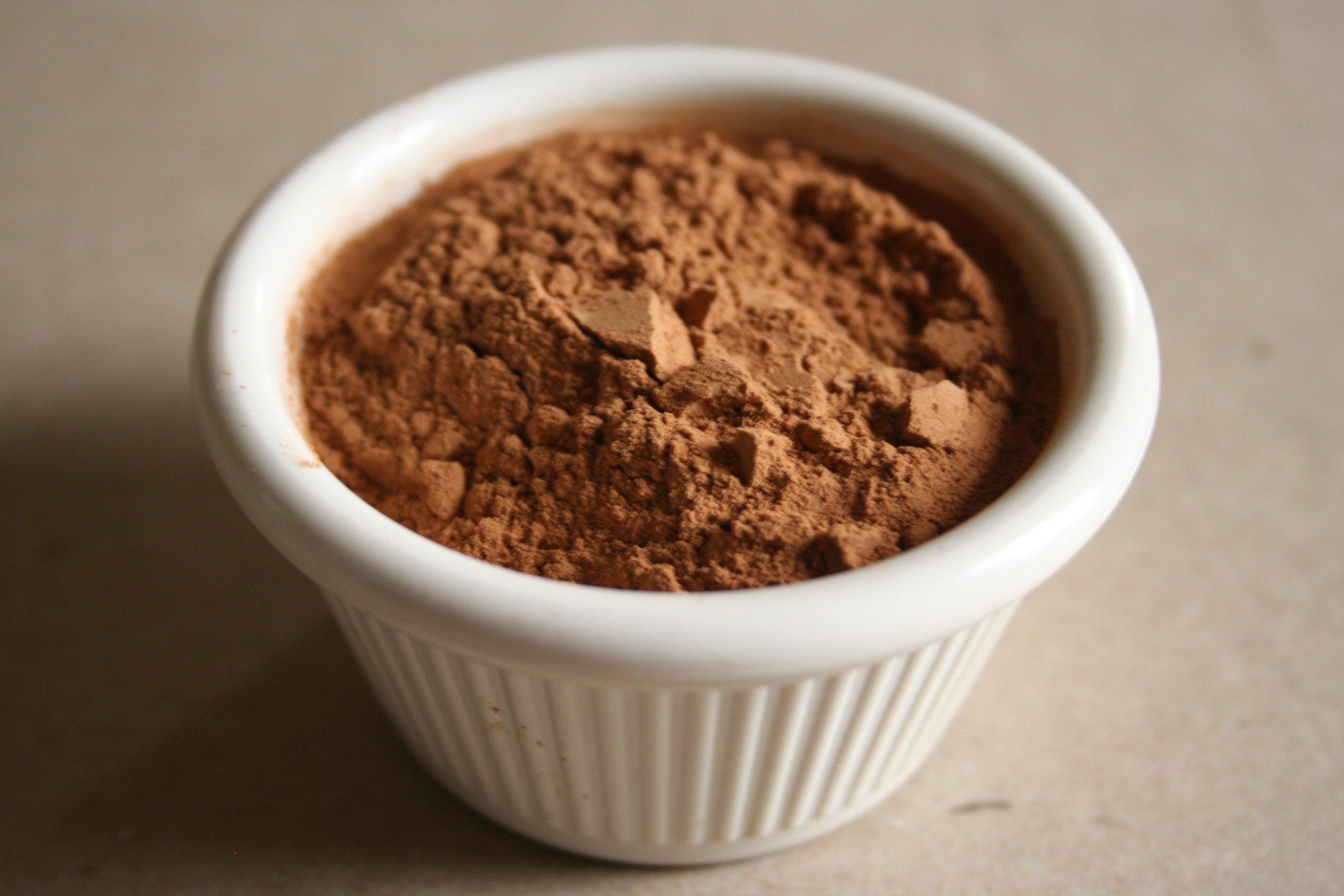 Cocoa powder chocolate