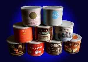 Private Label Cocoa Tins