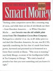 Smart Money February 2001, Omanhene company profile