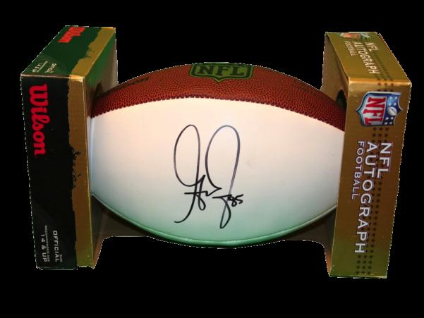 Greg Jennings autographed football